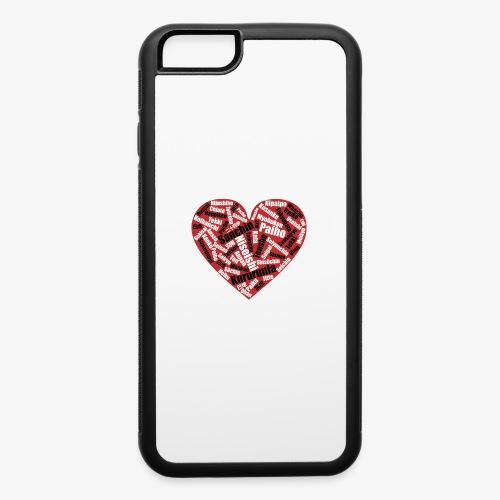 Kata Mix Heart - iPhone 6/6s Rubber Case