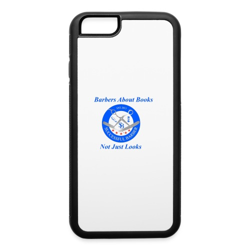 BarberShop Books - iPhone 6/6s Rubber Case