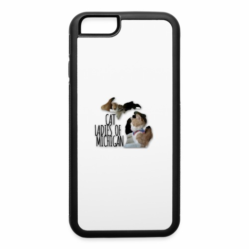 Cat Ladies of Michigan - iPhone 6/6s Rubber Case