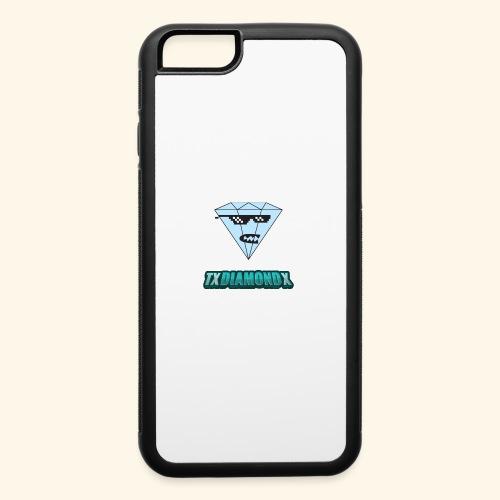 Txdiamondx Diamond Guy Logo - iPhone 6/6s Rubber Case