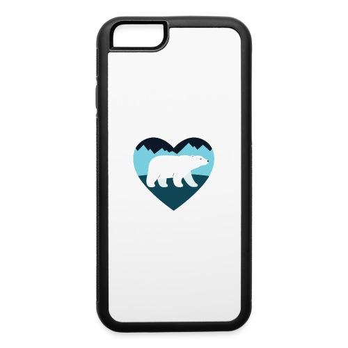 Polar Bear Love - iPhone 6/6s Rubber Case