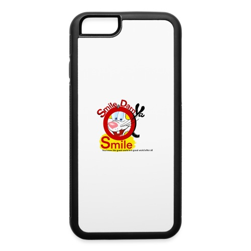 Smile Darn Ya Smile - iPhone 6/6s Rubber Case