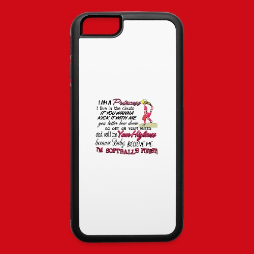 Softballs Finest - iPhone 6/6s Rubber Case