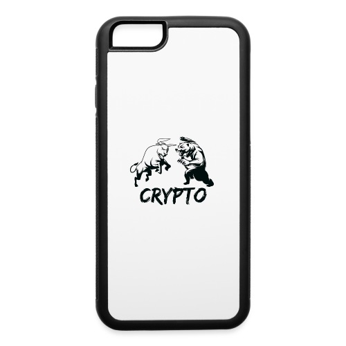 CryptoBattle Black - iPhone 6/6s Rubber Case