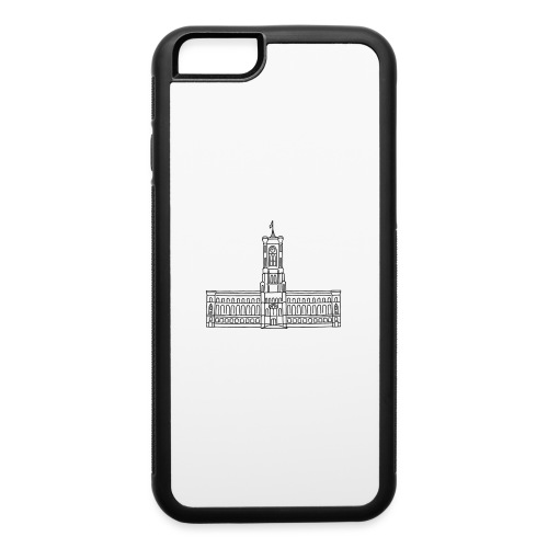 Red City Hall Berlin - iPhone 6/6s Rubber Case