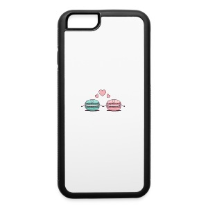 Macarons Couple - iPhone 6/6s Rubber Case