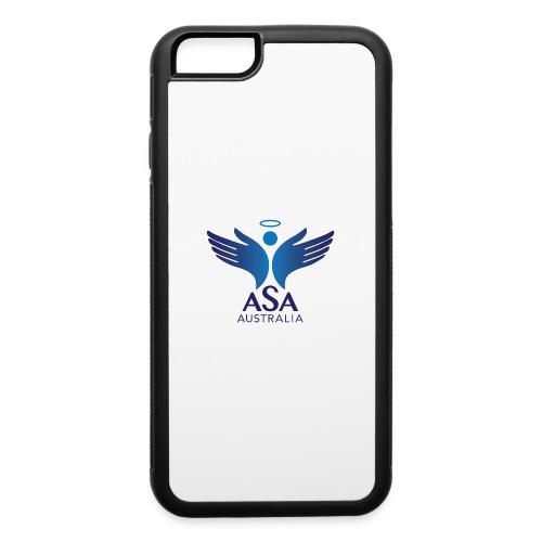 3459 Angelman Logo AUSTRALIA FA CMYK - iPhone 6/6s Rubber Case
