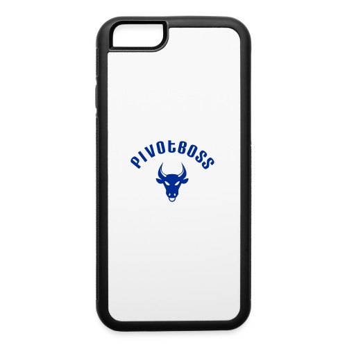 PivotBoss Curved Logo - Cobalt - iPhone 6/6s Rubber Case