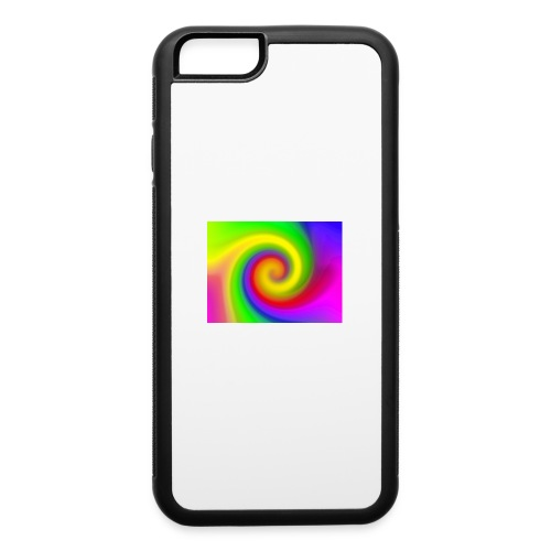 color swirl - iPhone 6/6s Rubber Case