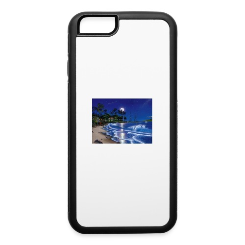 full moon - iPhone 6/6s Rubber Case