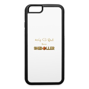 Girl Basketball shirt - iPhone 6/6s Rubber Case