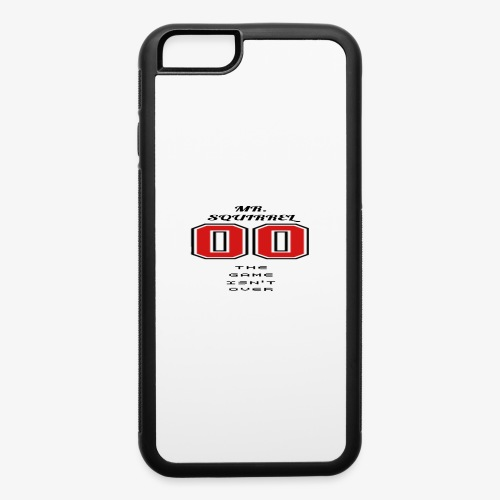 The game isn't over - iPhone 6/6s Rubber Case
