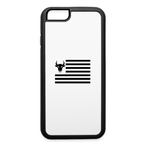 PivotBoss Flag Black - iPhone 6/6s Rubber Case
