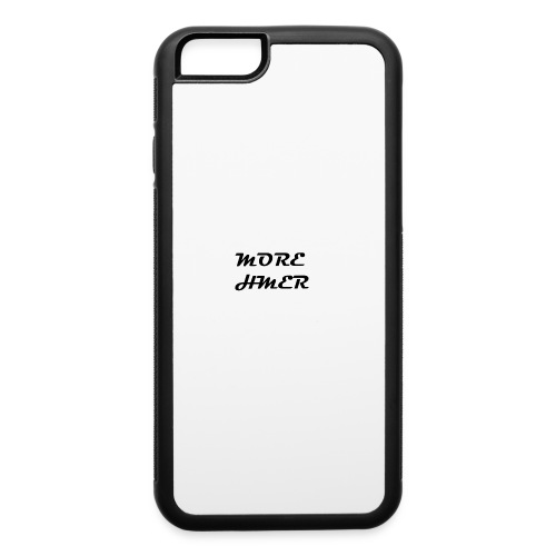 MORE HMER - iPhone 6/6s Rubber Case