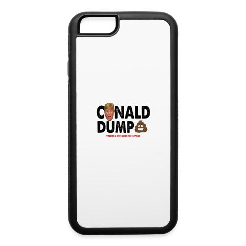 Conald Dump Worst President Ever - iPhone 6/6s Rubber Case