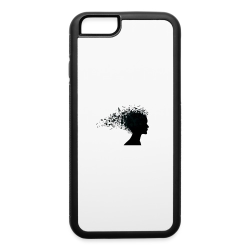music through my head - iPhone 6/6s Rubber Case