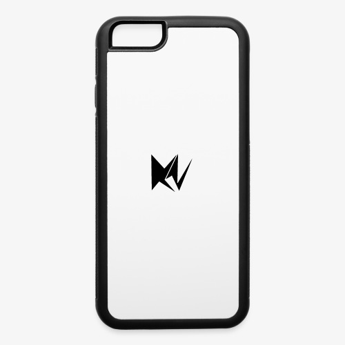 NK Transparent Black Logo - iPhone 6/6s Rubber Case