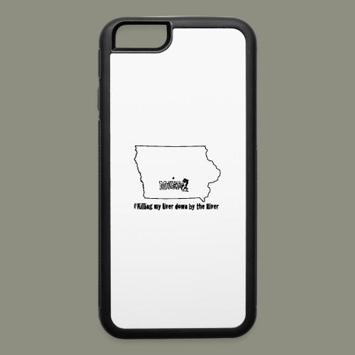 river black - iPhone 6/6s Rubber Case