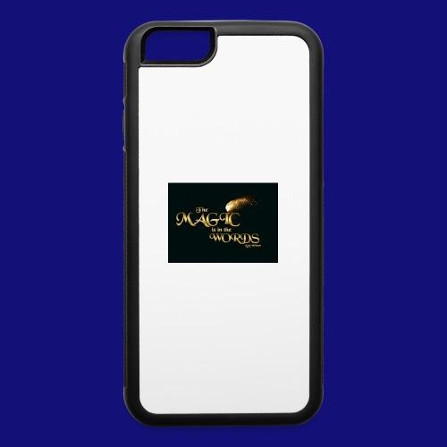 The magic is in the words gold - iPhone 6/6s Rubber Case