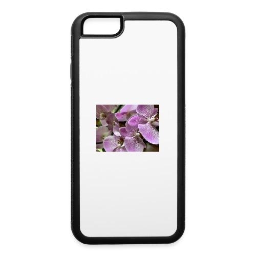 Purple Flower Beauties - iPhone 6/6s Rubber Case