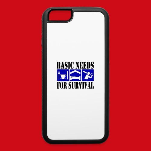 Softball/Baseball Basic Needs - iPhone 6/6s Rubber Case