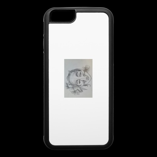 Masked Girl - iPhone 6/6s Rubber Case