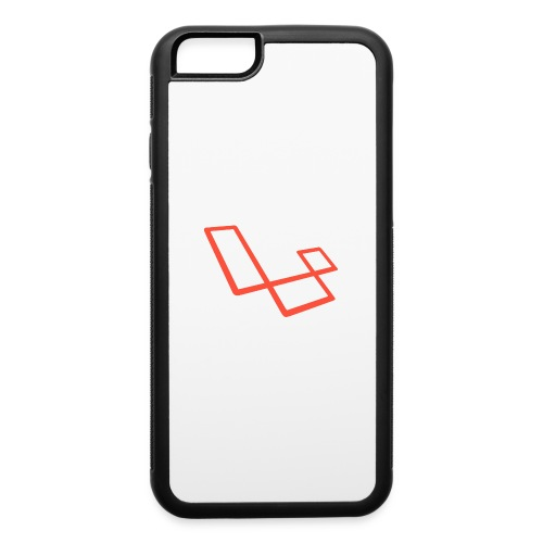 laravel l slant - iPhone 6/6s Rubber Case