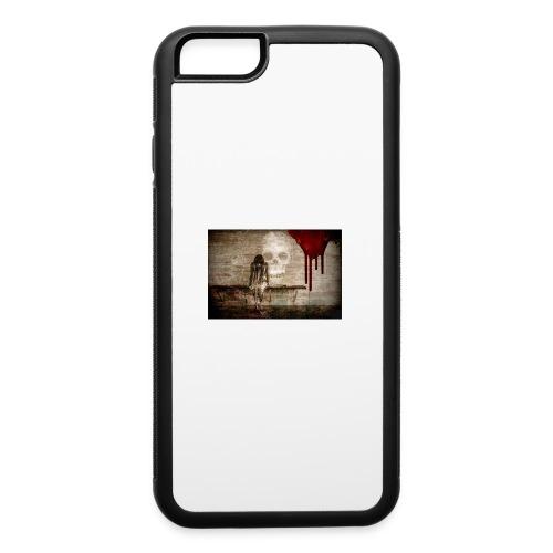 sad girl - iPhone 6/6s Rubber Case