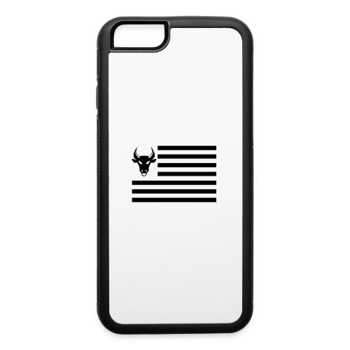 PivotBoss Flag Black - iPhone 6/6s Rubber Case