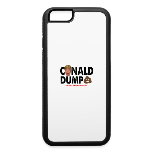 Conald Dump Worst President Ever - iPhone 6/6s Rubber Case