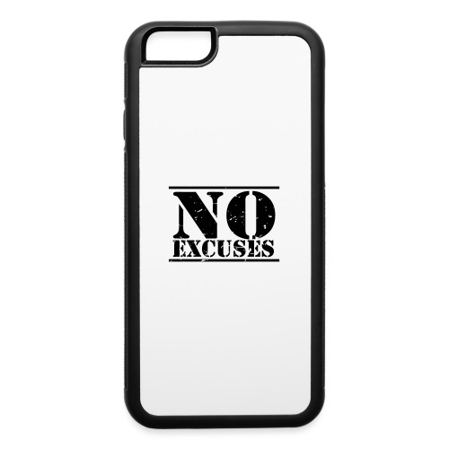 No Excuses training - iPhone 6/6s Rubber Case