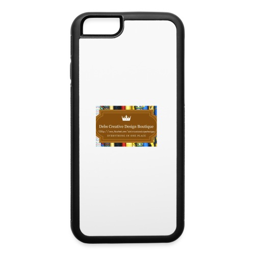 Debs Creative Design Boutique with site - iPhone 6/6s Rubber Case