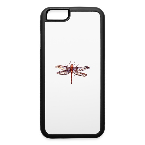 Dragonfly red - iPhone 6/6s Rubber Case