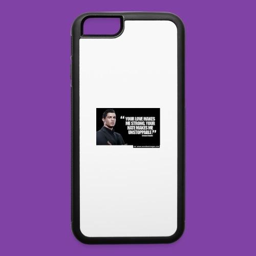 255777-Cristiano-ronaldo------quote-w - iPhone 6/6s Rubber Case