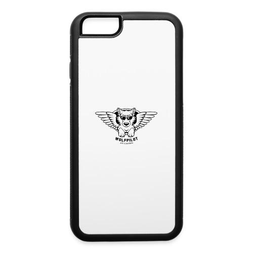 Wolfpilot Logo Black - iPhone 6/6s Rubber Case