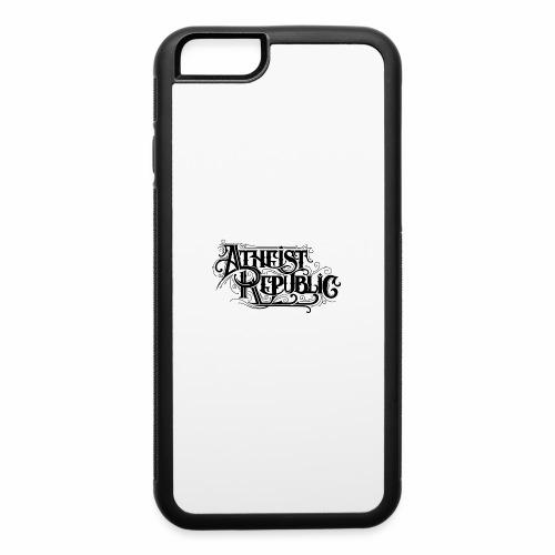 Atheist Republic Calligraphy - iPhone 6/6s Rubber Case