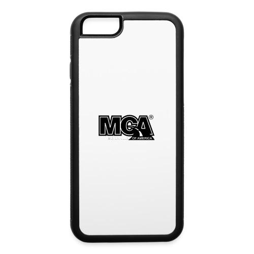 MCA Logo WBG Transparent BLACK TITLEfw fw png - iPhone 6/6s Rubber Case