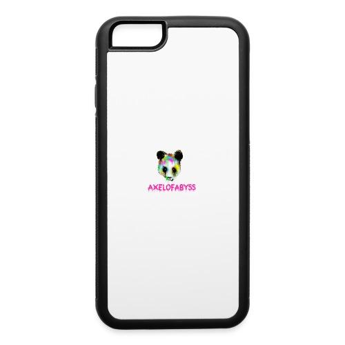 Axelofabyss panda panda paint - iPhone 6/6s Rubber Case
