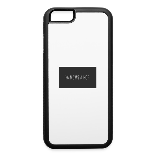 yo moms a hoe by MacWear - iPhone 6/6s Rubber Case