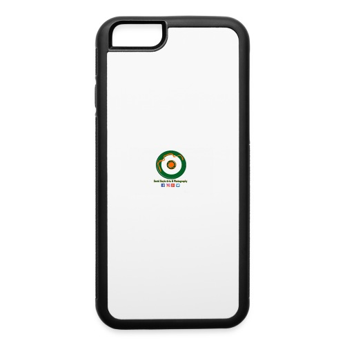 David Doyle Arts & Photography Logo - iPhone 6/6s Rubber Case