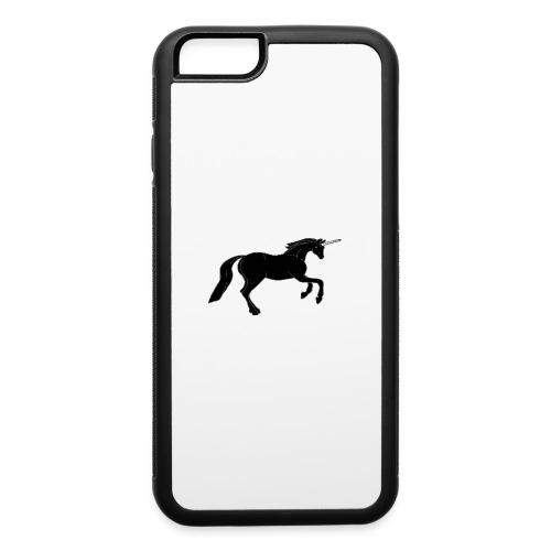 unicorn black - iPhone 6/6s Rubber Case