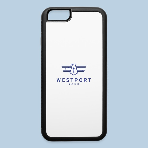 Westport Band Blue on transparent - iPhone 6/6s Rubber Case