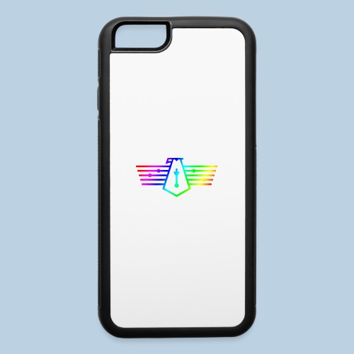 Westport Bird Rainbow on transparent - iPhone 6/6s Rubber Case