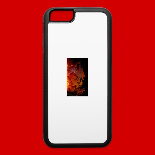 Flaming wolf - iPhone 6/6s Rubber Case