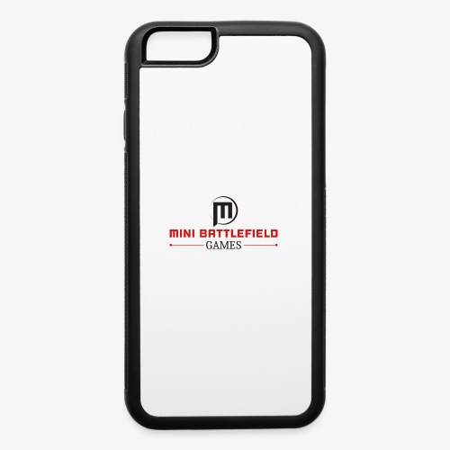 Mini Battlefield Games Logo - iPhone 6/6s Rubber Case