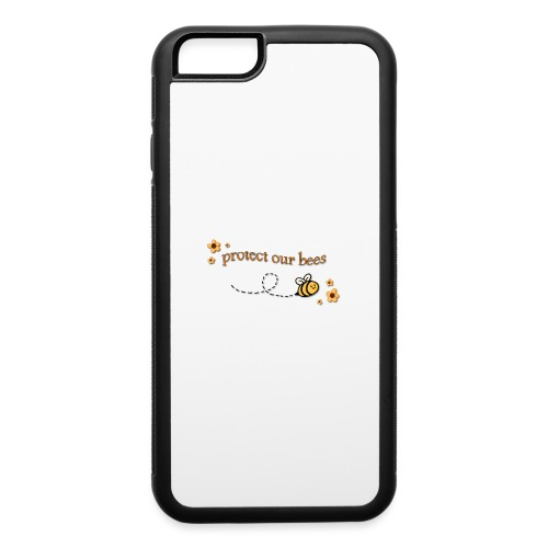 save the bees - iPhone 6/6s Rubber Case