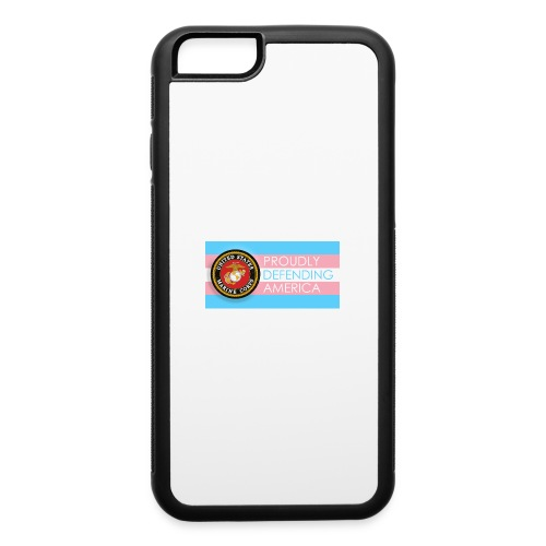 Transgender Marine - iPhone 6/6s Rubber Case