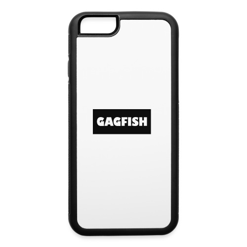GAGFISH BLACK LOGO - iPhone 6/6s Rubber Case