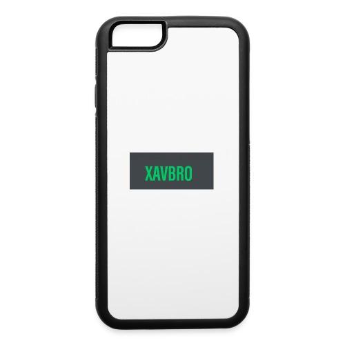 xavbro green logo - iPhone 6/6s Rubber Case