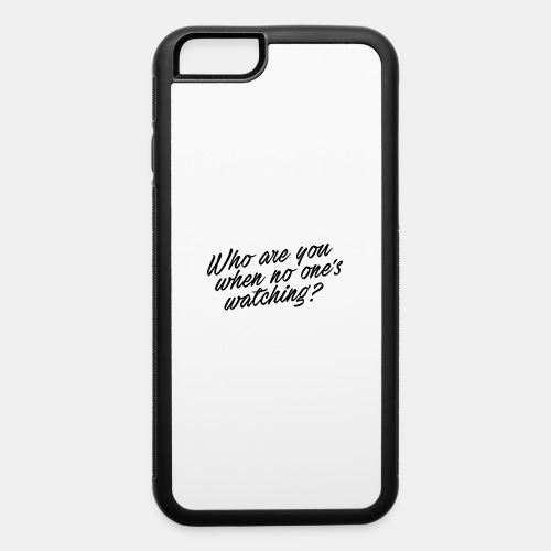who - iPhone 6/6s Rubber Case